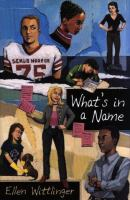 What's in A Name?
