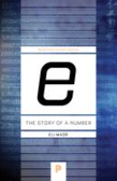 E : the story of a number /