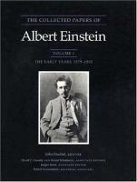 Collected papers of Albert Einstein.