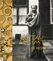 Gustav Klimt at home /
