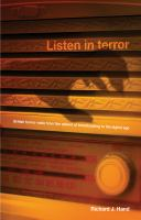 Listen in terror : British horror radio from the advent of broadcasting to the digital age
