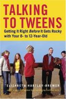 cover of Talking to Tweens