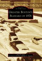 Greater Boston's Blizzard of 1978