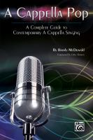 A cappella pop : a complete guide to contemporary a cappella singing