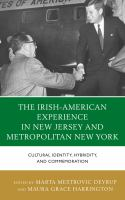 The Irish-American experience in New Jersey and metropolitan New York : cultural identity, hybridity, and commemoration