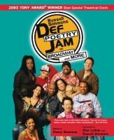 Russell Simmons Def Poetry Jam on Broadway -- and More