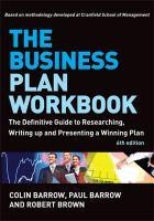 The Business Plan Workbook catalog