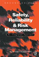 Safety, reliability, and risk management [electronic resource] : an integrated approach