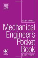 Newnes mechanical engineer's pocket book [electronic resource]