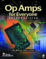 Op amps for everyone [electronic resource] : design reference