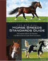 The Official Horse Breeds Standards Book