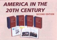 America in the 20th century.