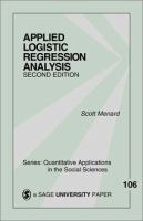 Applied logistic regression analysis [electronic resource]