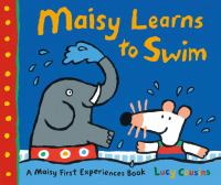 Cover Image of Maisy learns to swim