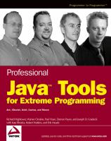Professional Java tools for extreme programming [electronic resource] : Ant, Xdoclet, JUnit, Cactus, and Maven