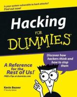Hacking for dummies [electronic resource]