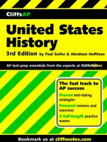CliffsAP United States history [electronic resource]