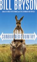 Book cover for In a Sunburned Country by Bill Bryson