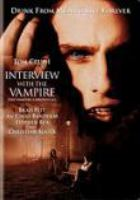 Interview with the vampire : the vampire chronicles cover image