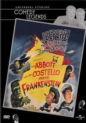 Cover of Abbott and Costello meet Frankenstein DVD