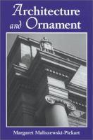 Architecture and Ornament