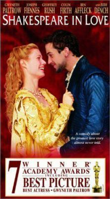 Shakespeare in Love (movie cover)