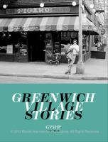 Greenwich Village Stories