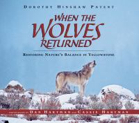 When the Wolves Returned catalog link
