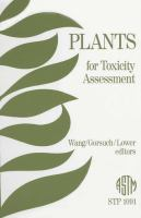 Plants for toxicity assessment [electronic resource]