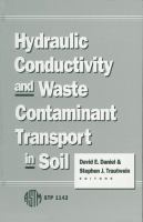 Hydraulic conductivity and waste contaminant transport in soil [electronic resource]