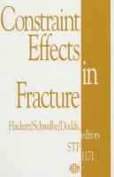 Constraint effects in fracture [electronic resource]