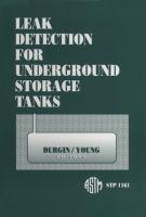 Leak detection for underground storage tanks [electronic resource]