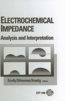Electrochemical impedance [electronic resource] : analysis and interpretation