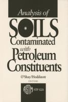 Analysis of soils contaminated with petroleum constituents [electronic resource]