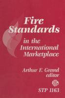 Fire standards in the international marketplace [electronic resource]