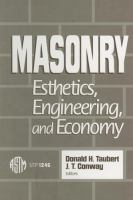 Masonry [electronic resource] : esthetics, engineering, and economy