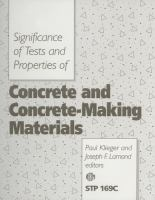 Significance of tests and properties of concrete and concrete-making materials [electronic resource]