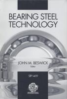 Bearing steel technology [electronic resource]