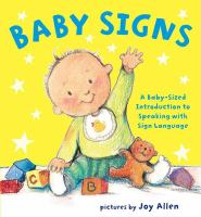 Cover Image of Baby signs