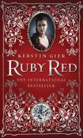 Cover of the book Ruby red