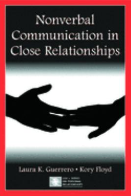 cover of the book Nonverbal Communication in Close Relationships