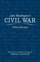 John Washington's Civil War