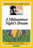 A Midsummer Night's Dream - a comedy by William Shakespeare