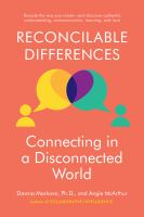 Reconcilable differences : connecting in a disconnected world cover image