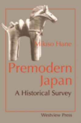 cover of the book Premodern Japan