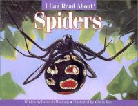 I Can Read About Spiders