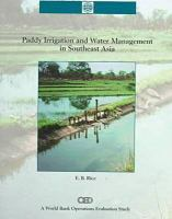 Paddy irrigation and water management in Southeast Asia [electronic resource]