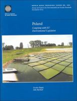 Poland [electronic resource] : complying with EU environmental legislation