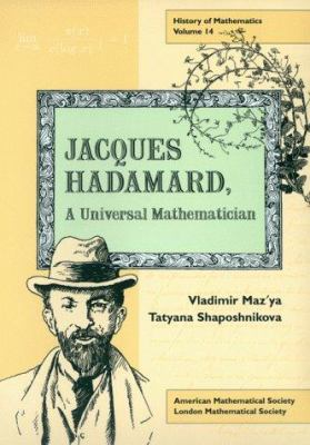 cover of the book Jacques Hadamard