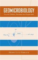 Geomicrobiology [electronic resource]